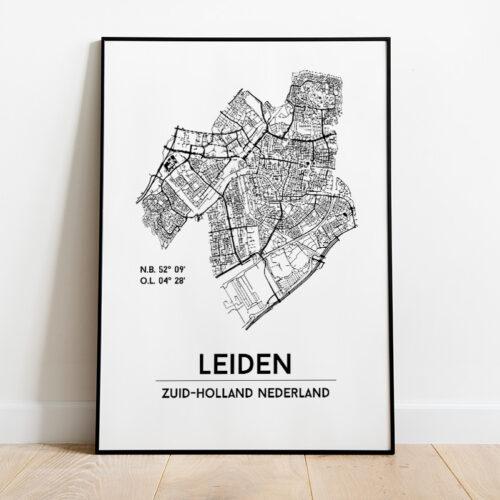 Leiden city poster