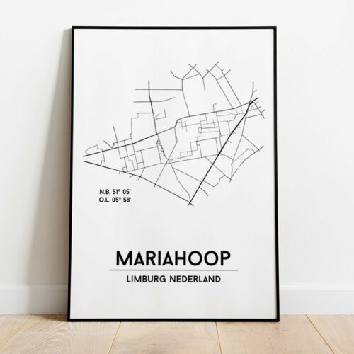 city poster Mariahoop