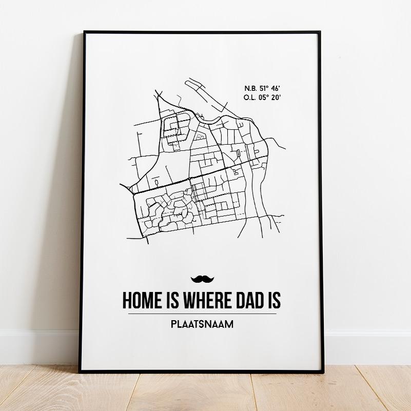 Vaderdag City Poster